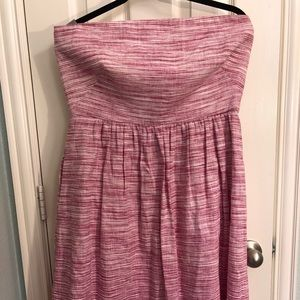 Banana Republic strapless fit and flare dress